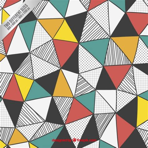 pattern triangle vector geometric patterns triangle vector www pixshark com