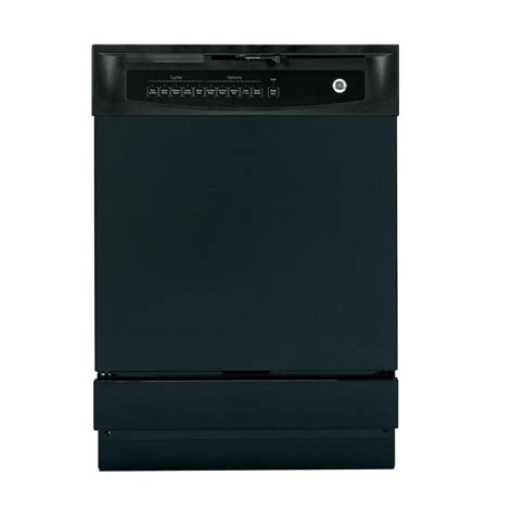 ge top dishwasher in stainless steel with steam