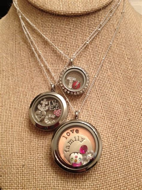 Origami Owl Necklace Lengths - origami owl lockets i sell this laurajsmiley yahoo