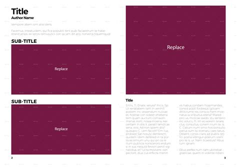 simple magazine template simple magazine template by diydesigns graphicriver