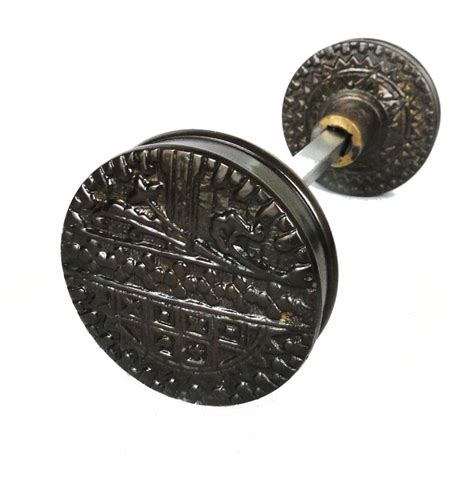 Arts And Crafts Door Knobs by Vintage Brass Eastlake Arts And Crafts