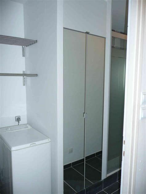 Merveilleux Faience Salle De Bain Noir Et Blanc #5: salle-de-bain-lille-gris-placard-miroir-buanderie.jpg