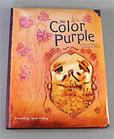 color purple book the color purple a memory book of the broadway musical