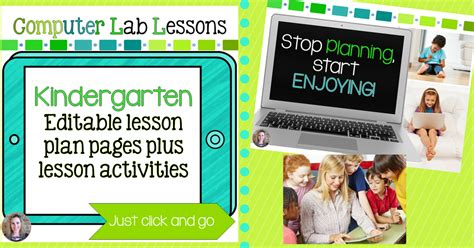 technology teaching resources  brittany washburn kindergarten technology lessons  activities