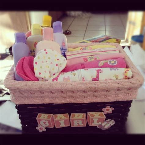 Handmade Baby Gift Baskets - diy gift basket baby shower for baby