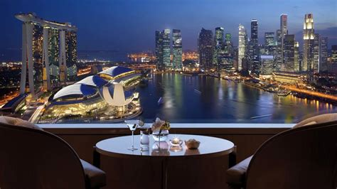 ritz carlton singapore new year goodies best hotels in singapore with view marina bay