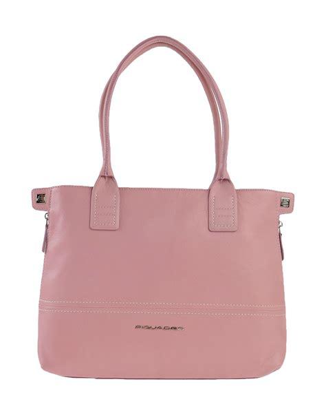 Pastel Bag piquadro handbag in pink pastel pink lyst
