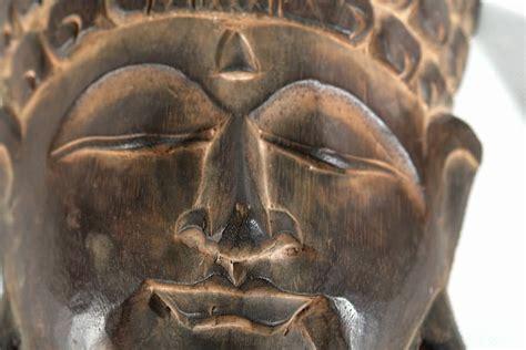 Baut 35cm 1 holzmaske l 35cm buddha