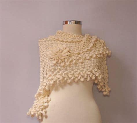 braut poncho ivory bridal shawl ivory wedding wrap shawl cover up for
