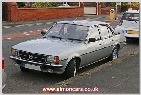 opel england simon cars vauxhall cavalier historic automobiles old