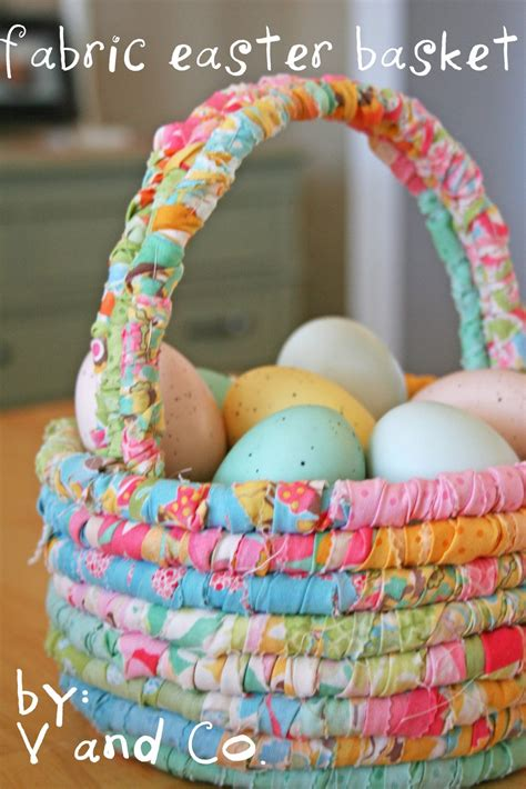 diy easter basket ideas 40 easter sewing projects ideas the polka dot chair
