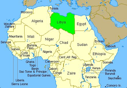 libya on the world map the best tefl in libya tefl tips