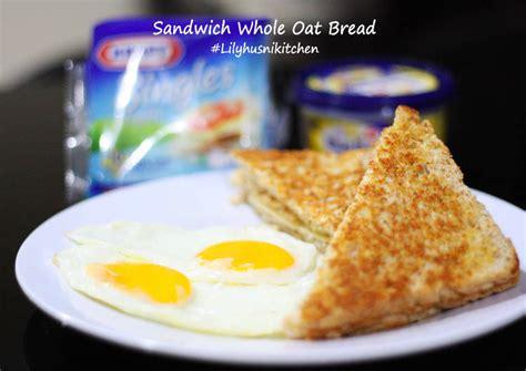 resep sarapan roti bakar gandum keju oleh
