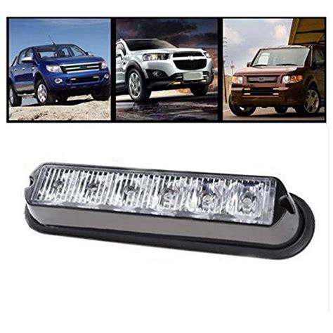 led emergency lights for trucks favson 6 led strobe lights for trucks cars with