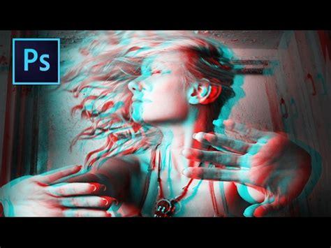 tutorial gambar 3d photoshop como deixar a foto com efeito psicod 201 lico basico