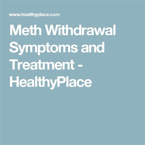 Meth Detox Time by 17 Best Ideas About Symptoms Of Meth On Signs