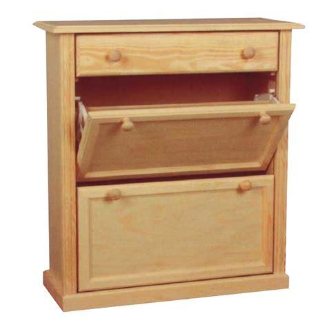 mueble zapatero de madera mueble zapatero en madera maciza de pino