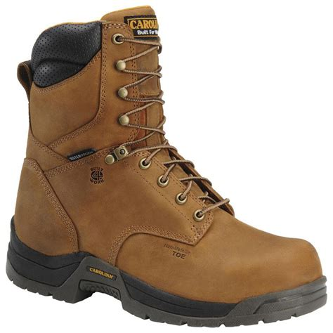 safety toe boots s carolina 174 8 quot waterproof broad toe safety toe boots