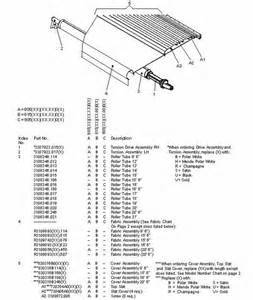 Weather Pro Awning Parts Laurelhurst Distributors Parts Breakdown Awnings