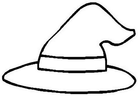 Wizard Hat Outline by L Usignolo Disegni Da Colorare E Stare