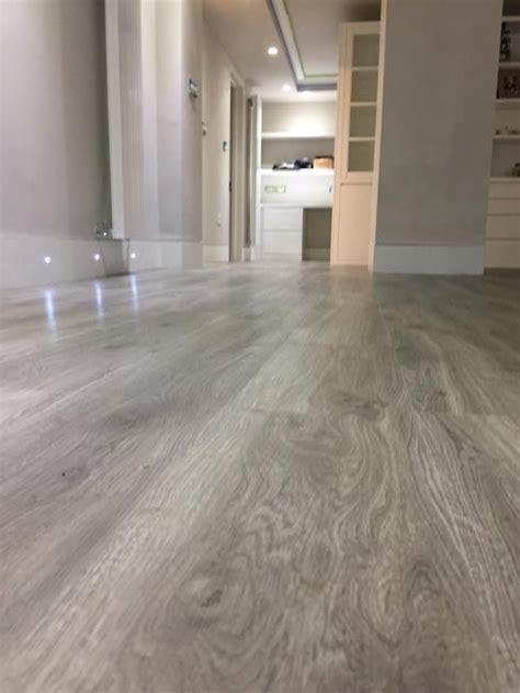 amtico grey wood flooring  premises  south london