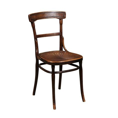 Pressed Chair by Thonet Style Bentwood Chair With Pressed Seat At 1stdibs