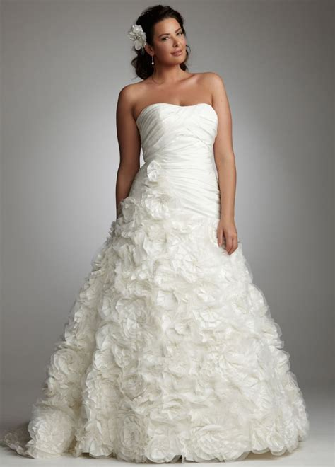 plus size wedding gowns plus size wedding dresses hairstyles and fashion