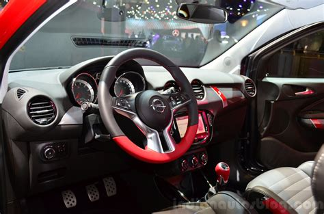 opel adam interior opel adam s paris live