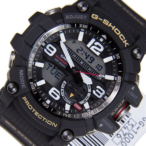 Casio G Shock Gg 1000 List Biru casio g shock master of g mudmaster gg 1000 1a