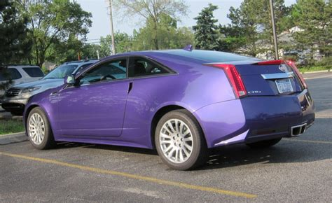 purple cadillac cts who bought the purple eater edition cadillac cts coupe
