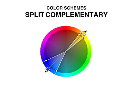split complementary color scheme art quill studio color schemes 1 2 art resourcemarie