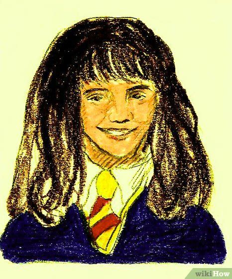 Hermione Granger 18 by C 243 Mo Dibujar A Hermione Granger 18 Pasos Con Fotos