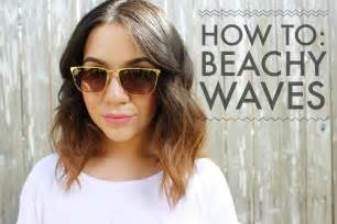 how to get soft curls in medium length hair how to beachy waves for short to medium length hair youtube
