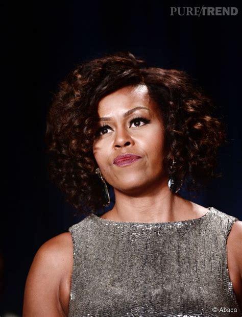 michelle obama cheveux naturel michelle obama transform 233 e une nouvelle coupe de cheveux