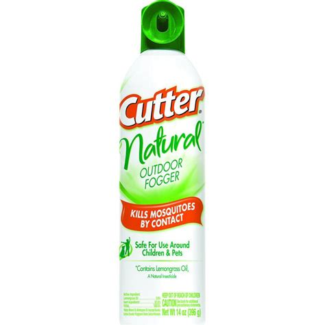 Cutter Backyard Fogger Cutter Natural 14 Oz Aerosol Outdoor Fogger Spray Hg
