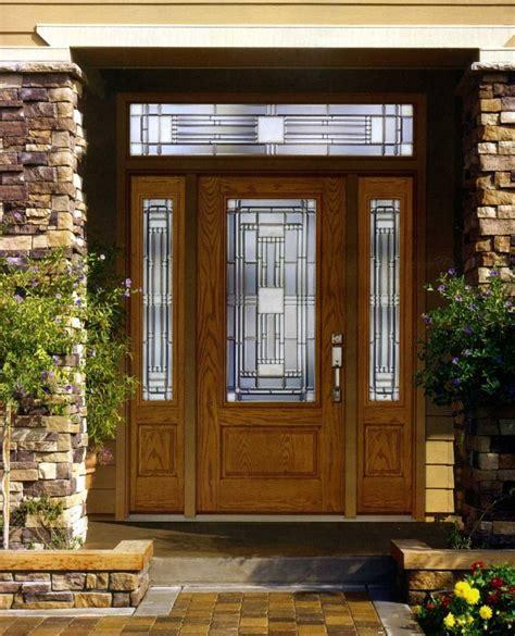excellent ideas  front doors  glass interior