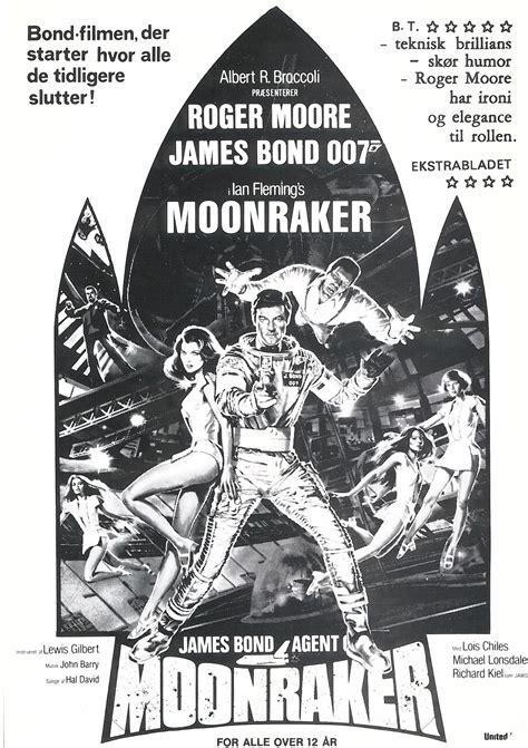 moonraker danish ad sheets  james bond  ramadk