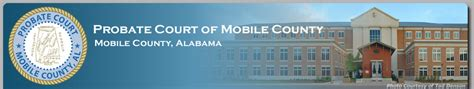 Mobile County Probate Court Records Search Mobile County Probate Court
