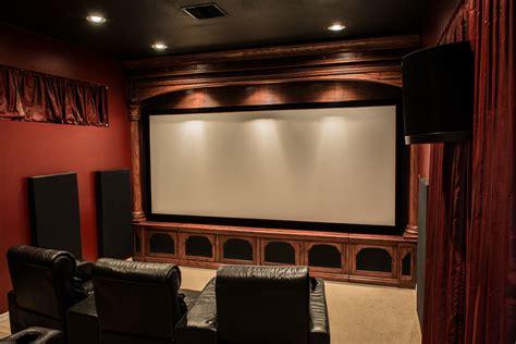 klipsch la scala trio home theater room build klipsch