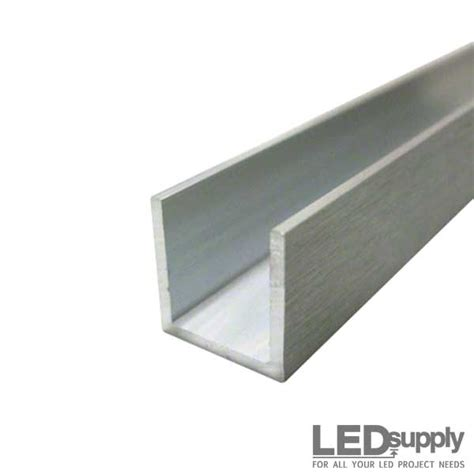 1 X 2 Aluminum U Channel by Aluminum U Channel 1inch X 1inch