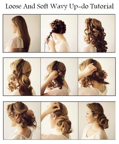 Soft Pin Up Hairstyles by Hair Today And Soft Wavy Up Do Tutorial