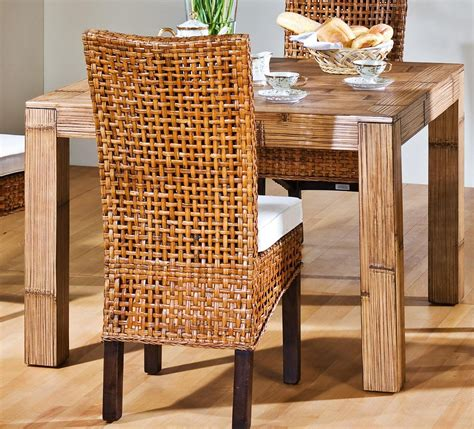 Bamboo Dining Room Chairs by Bamboo Table And Chairs Furniture For Dining Room 857