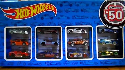 Paket Hotwheels unboxing caja pack 50 wheels paquete paket box review