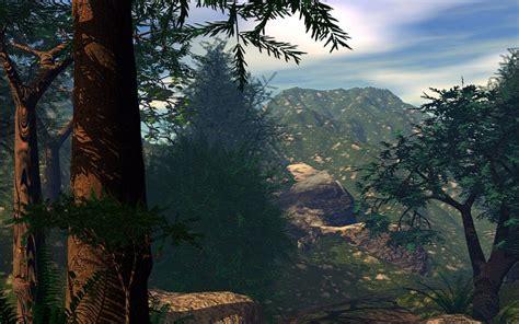 imagenes de paisajes en 3d bosque 3d 1680x1050 fondos de pantalla y wallpapers