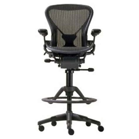 bar stool desk chair new herman miller aeron desk task stool office chair