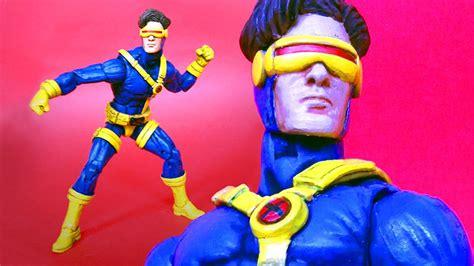 Costum Cyclops 2 jim cyclops marvel legends custom figure