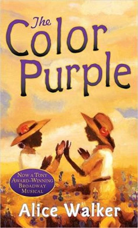 color purple and book differences the color purple by walker 9780156031820