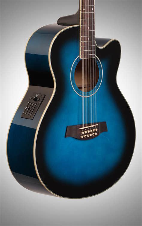 Akustik Elektrik Ibanez Jumbo Sunbrush ibanez ael1512e acoustic electric guitar 12 string