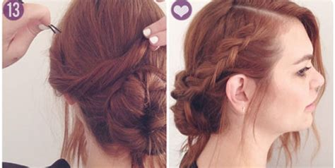 hair style pk how to making how to make side bun braid hairstyle style pk