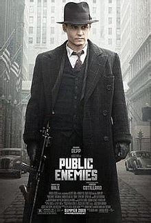 film gangster johnny depp public enemies 2009 film wikipedia